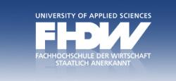 FHDW – Fachhochschule der Wirtschaft staatlich anerkannt