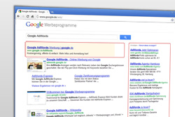 Google AdWords ist ein effizientes Mittel, um Besucher auf die eigene Homepage zu bringen.