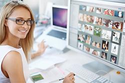 Hauptaufgabe von Webdesignern ist die Erstellung und Pflege von Internetseiten.