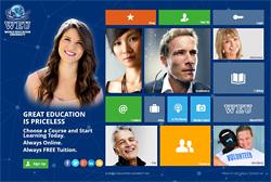 Webseite der WEU - World Education University
